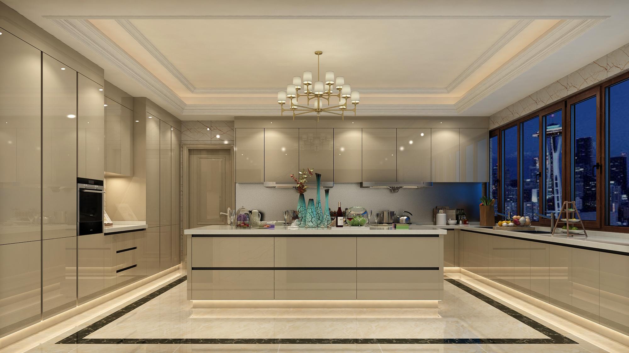 广州橱柜设计公司:什么是开放式厨房?
